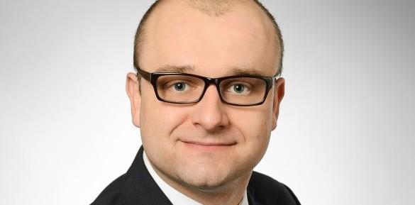 Kamil Goździk - kierownik WSSE w Opolu