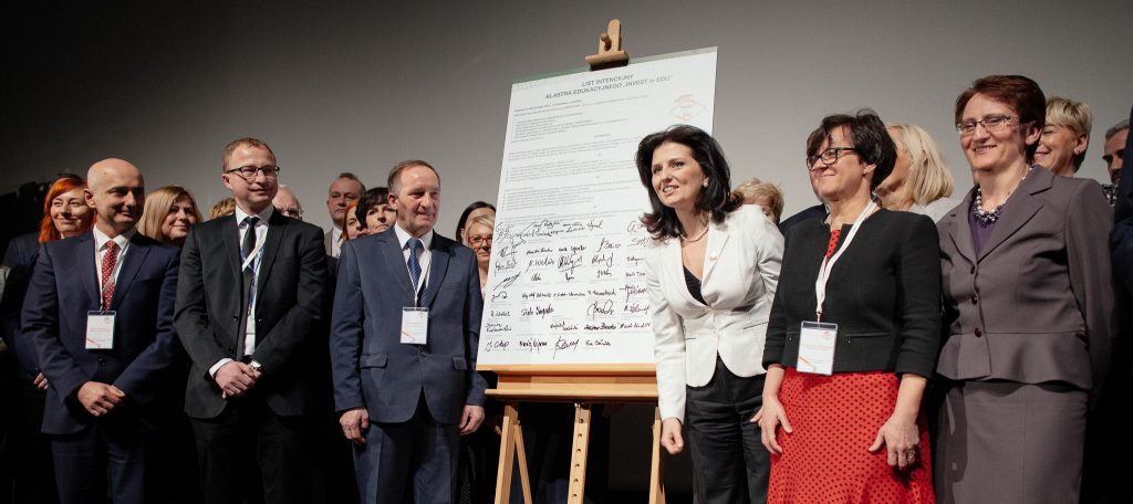 "Podpisanie Klastra Edukacyjnego ""INVEST in EDU"""