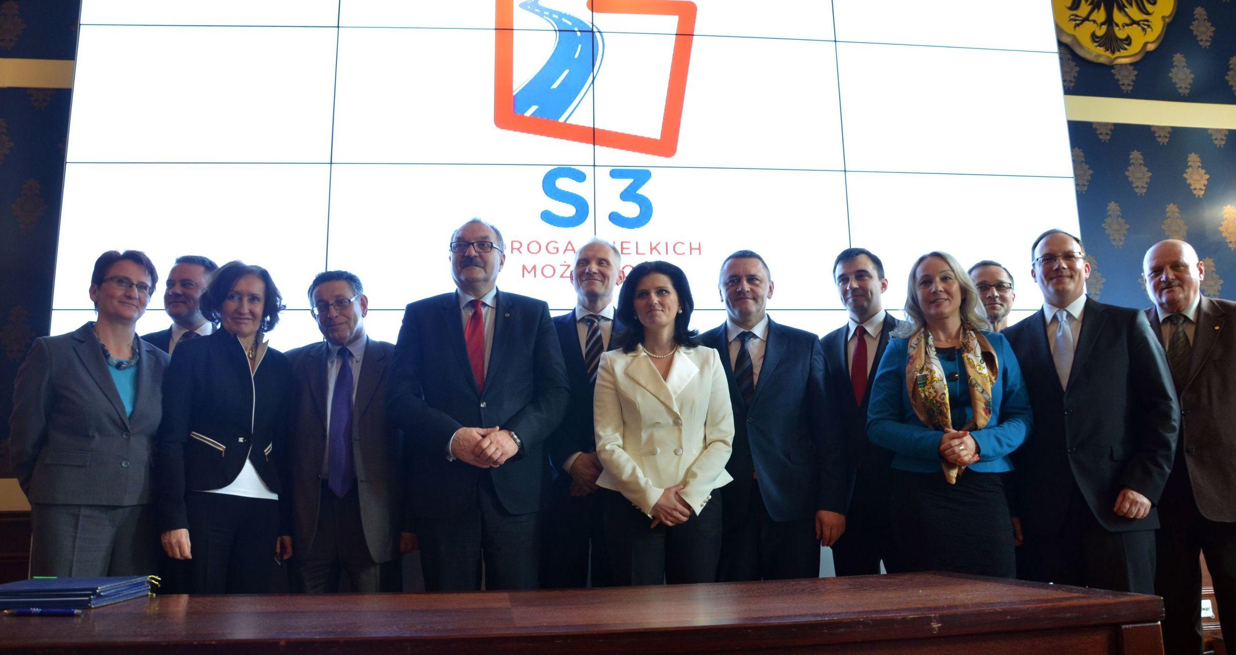 Porozumienie w sprawie stworzenia obszaru aktywności inwestycyjnej w pasie drogi ekspresowej S3.