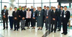 goście II spotkania inwestorów japońskich WSSE
