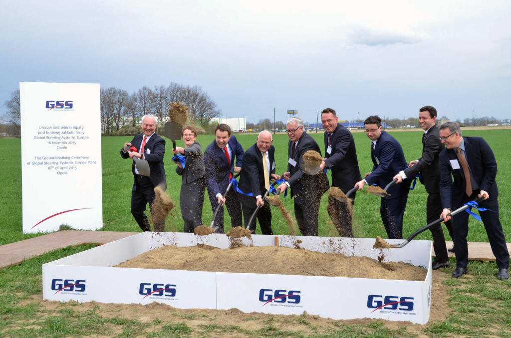 The first spade was symbolically dug during the investment launching ceremony