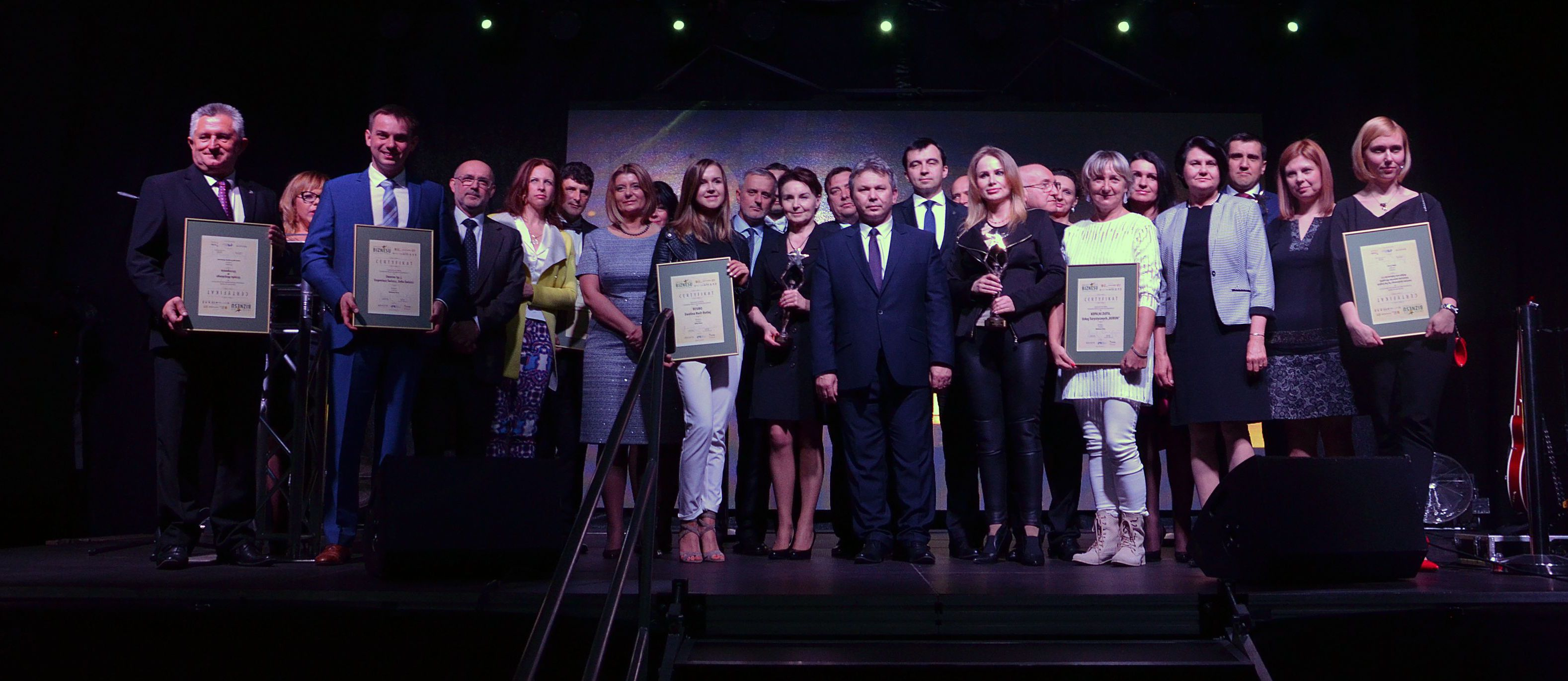 WSSE - Gwiazdy Biznesu - zwyciezcy i laureaci