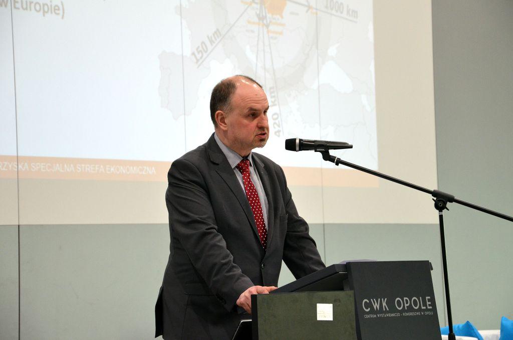 prezes WSSE Maciej Badora 2