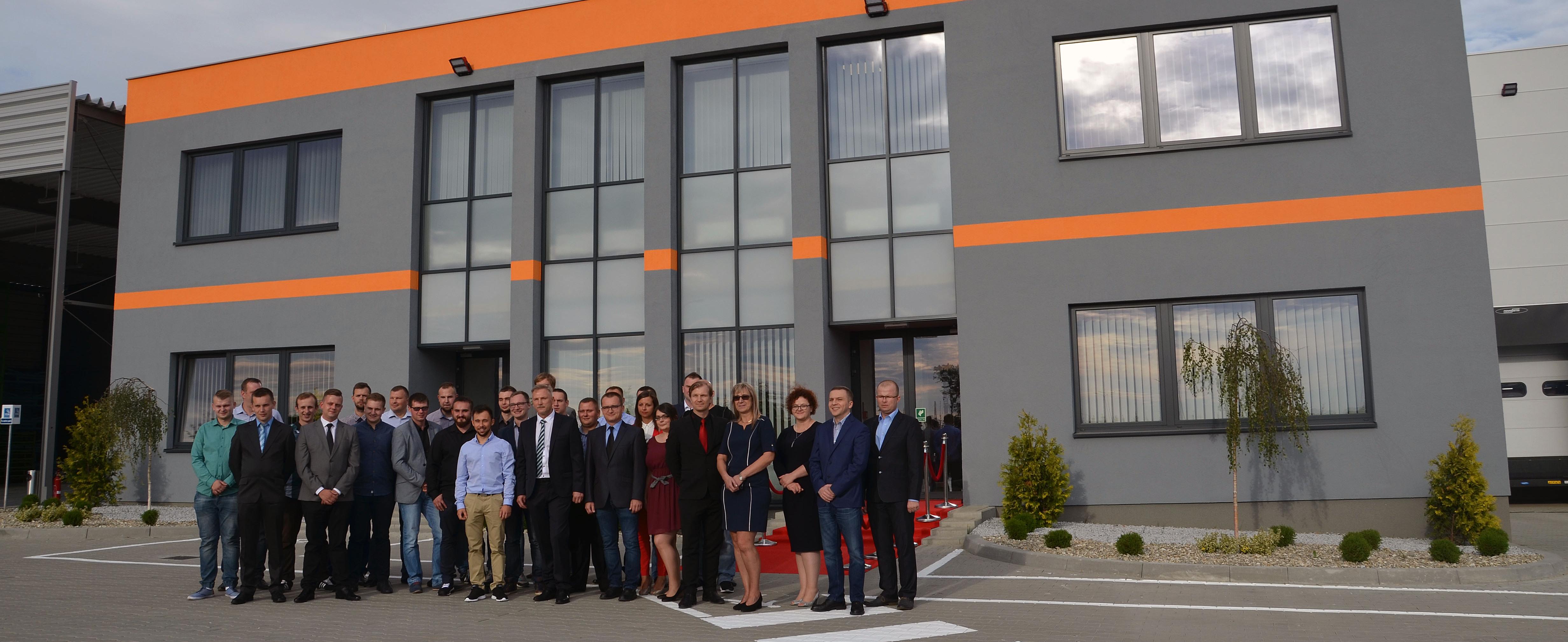 Hala przemysłowa wybudowana przez WSSE we Wrześni