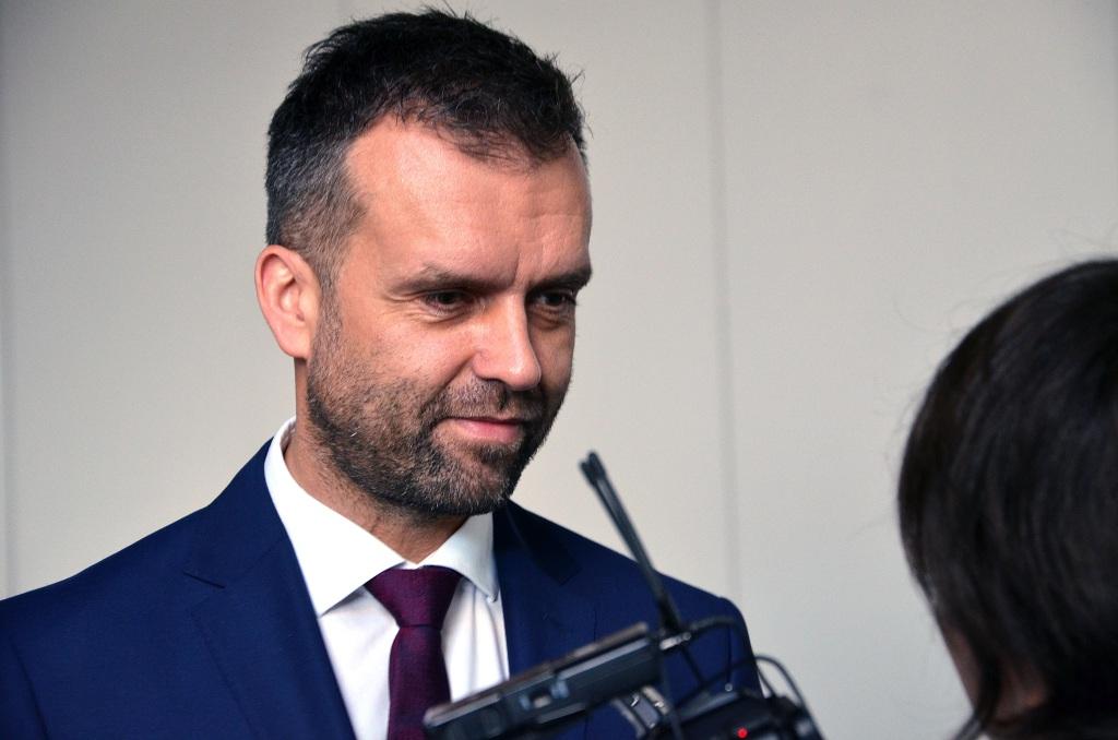 Przemysław Olejnik - dyrektor zakładu Skamol w Opolu