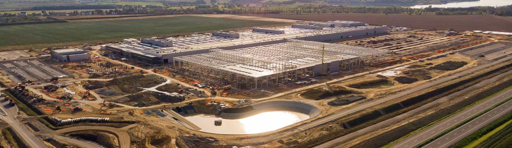 Budowa fabryki silników Mercedes-Benz w Wałbyzskiej Specjlanej Strefie Ekonomicznej (Jawor)