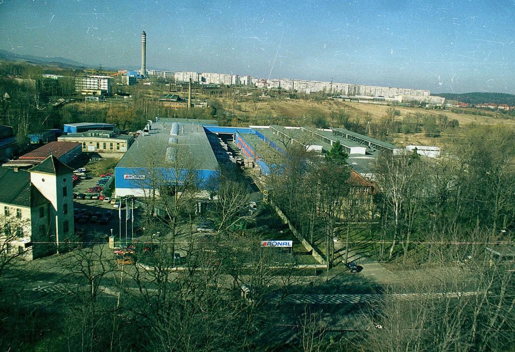 Ronal u początku działalności_siedziba główna przy ul. Wrocławskiej.