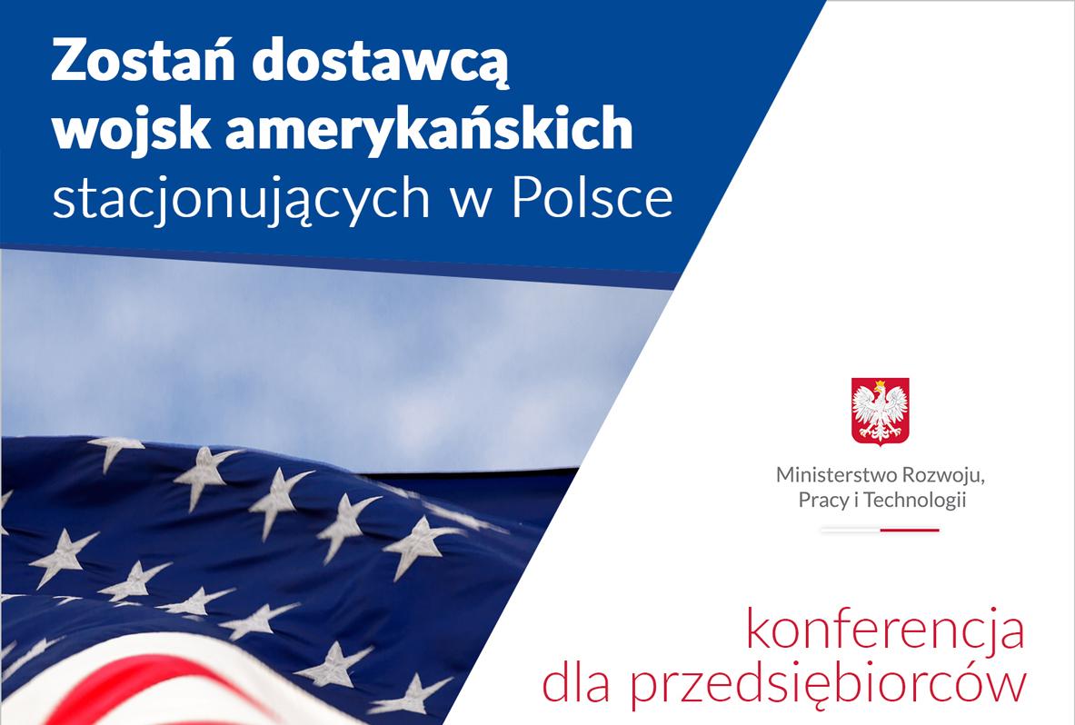 Zostań dostawcą wojsk amerykańskich stacjonujących w Polsce