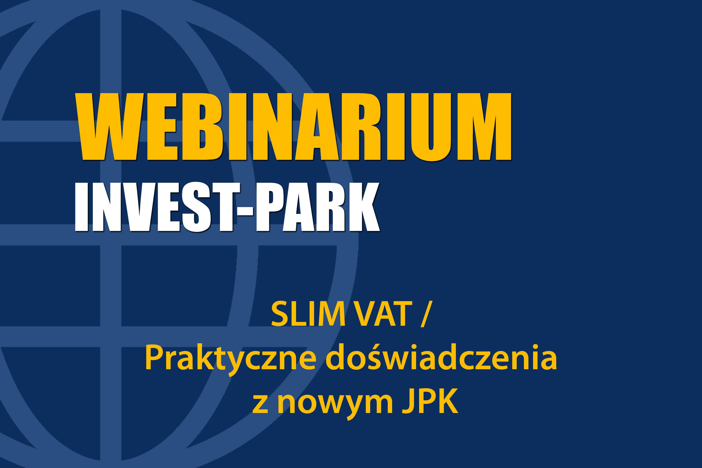 SLIM VAT / Praktyczne doświadczenia z nowym JPK